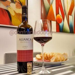 Aliança Reserva Dão 2013 – Avaliação de vinho Touriga Nacional, Tinta Roriz e Jaen (Mencía)